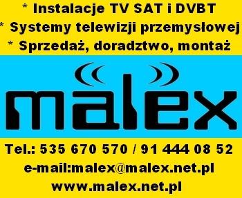 Malex - wszystko do cyfrowej telewizji