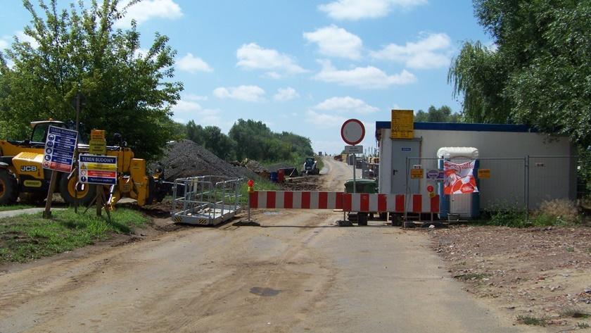 remont wiaduktu na ul. Kuźnickiej w Poilicach