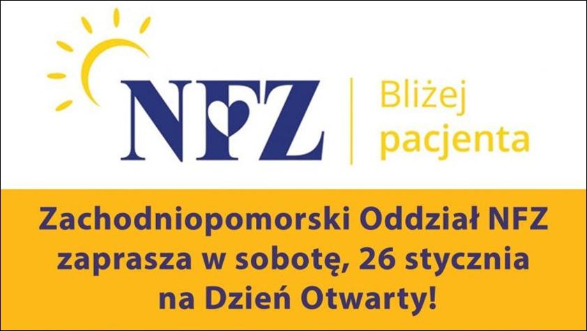 plakat dnia otwartego w NFZ
