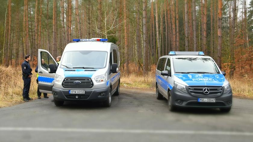 polsko - niemiecki patrol policji